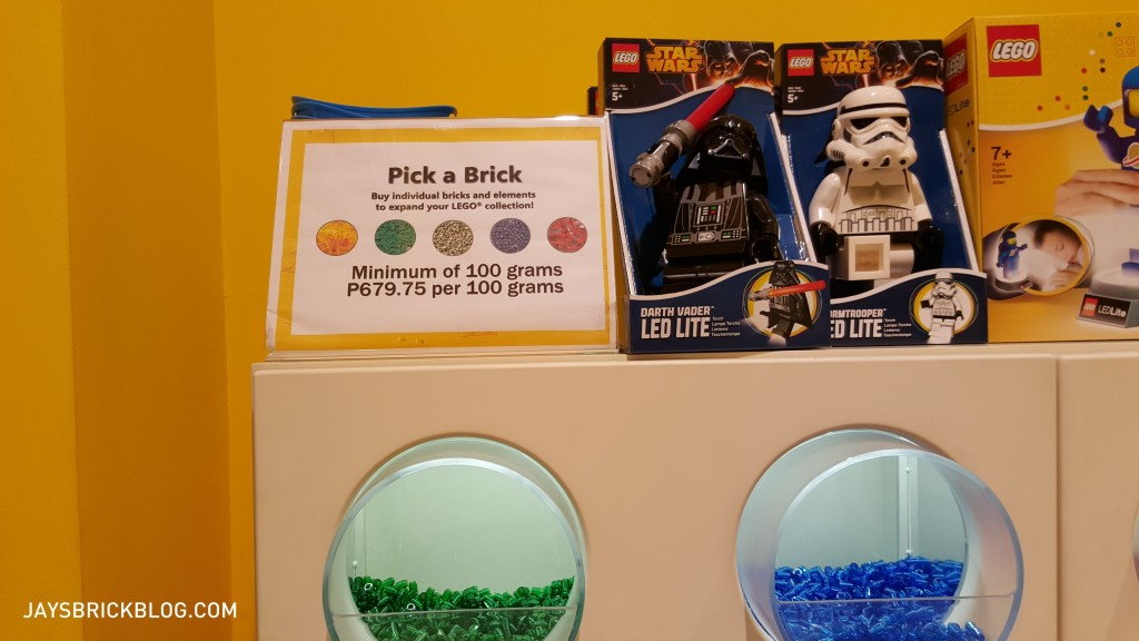 Manila LEGO Store - Pick A Brick Prices