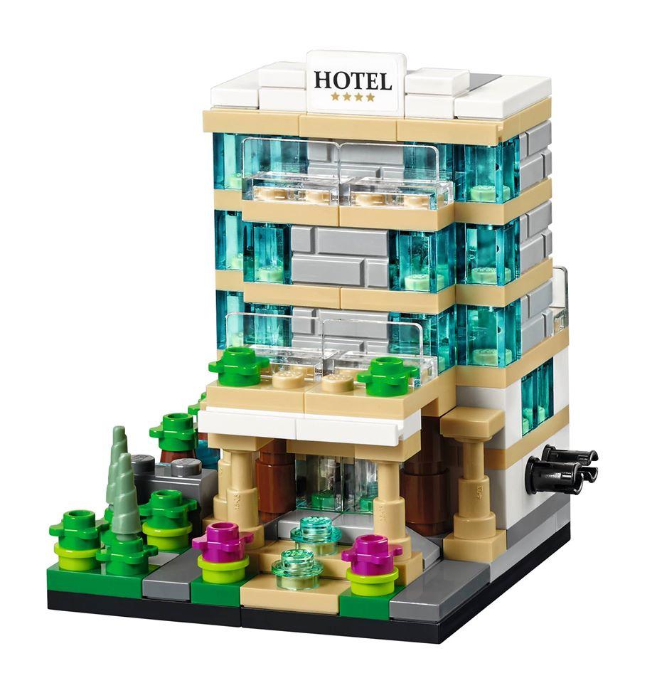 Toys R Us Bricktober 2015 40141 Bricktober Hotel Model