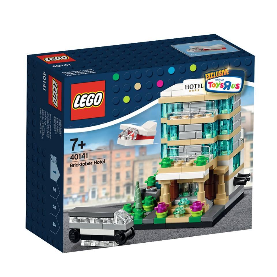 Toys R Us Bricktober 2015 40141 Bricktober Hotel