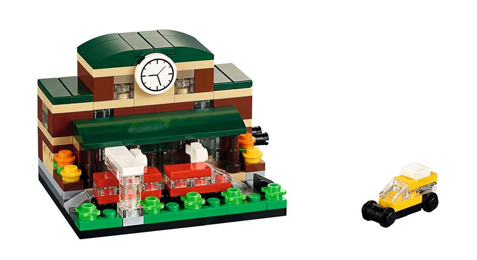 Toys R Us Bricktober 2015 40142 Bricktober Train Station Complete Model