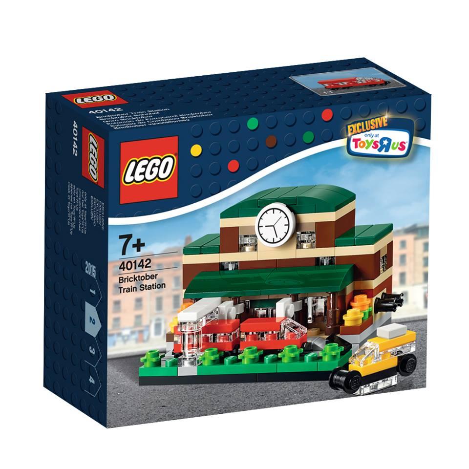 Toys R Us Bricktober 2015 40142 Bricktober Train Station