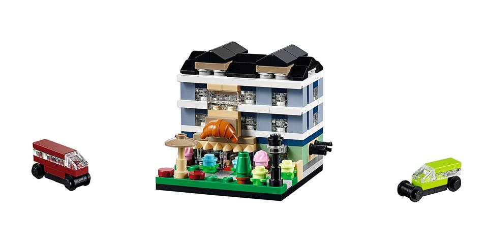 Toys R Us Bricktober 2015 40143 Bricktober Bakery Complete Model