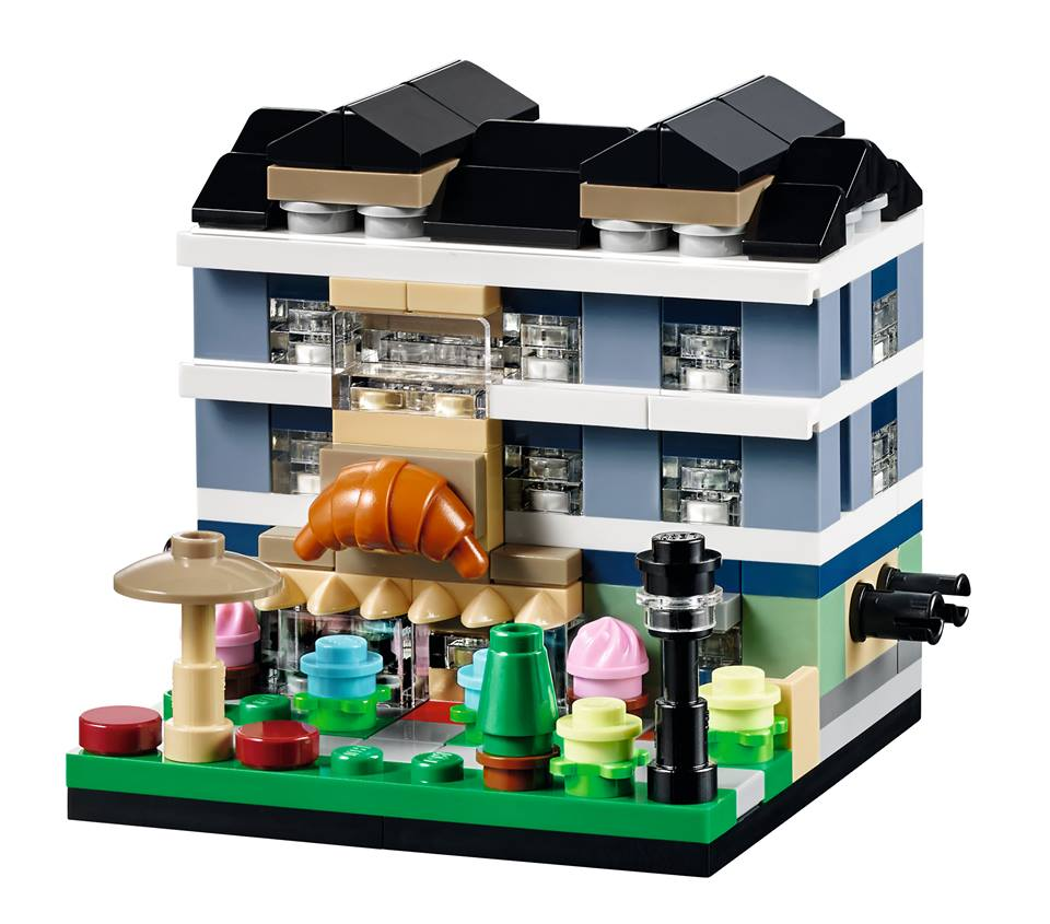 Toys R Us Bricktober 2015 40143 Bricktober Bakery Model