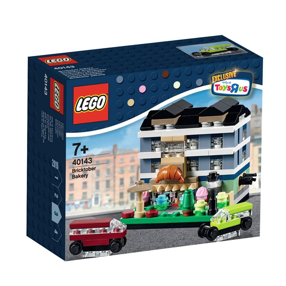 Toys R Us Bricktober 2015 40143 Bricktober Bakery