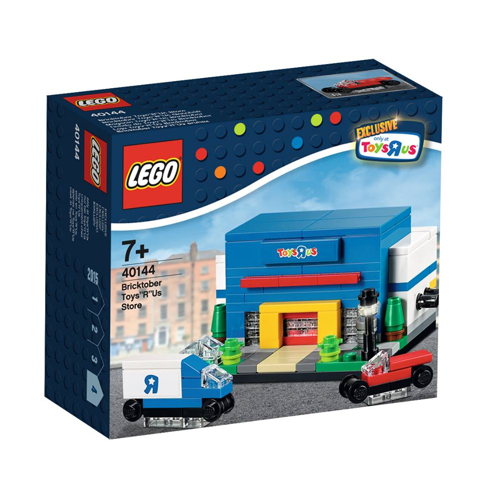 Toys R Us Bricktober 2015 40144 Bricktober Toys R Us Store