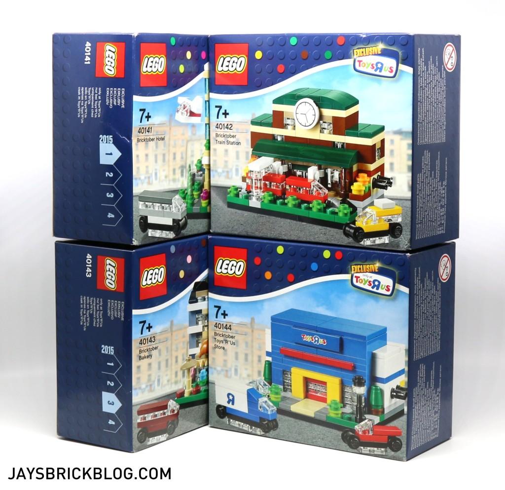 Complete Toys R Us Bricktober 2015 Sets