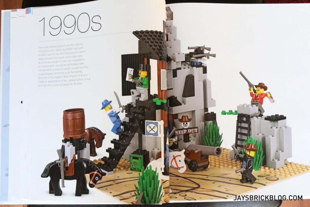 DK Great LEGO Sets Book - 1990s Spread LEGO Western