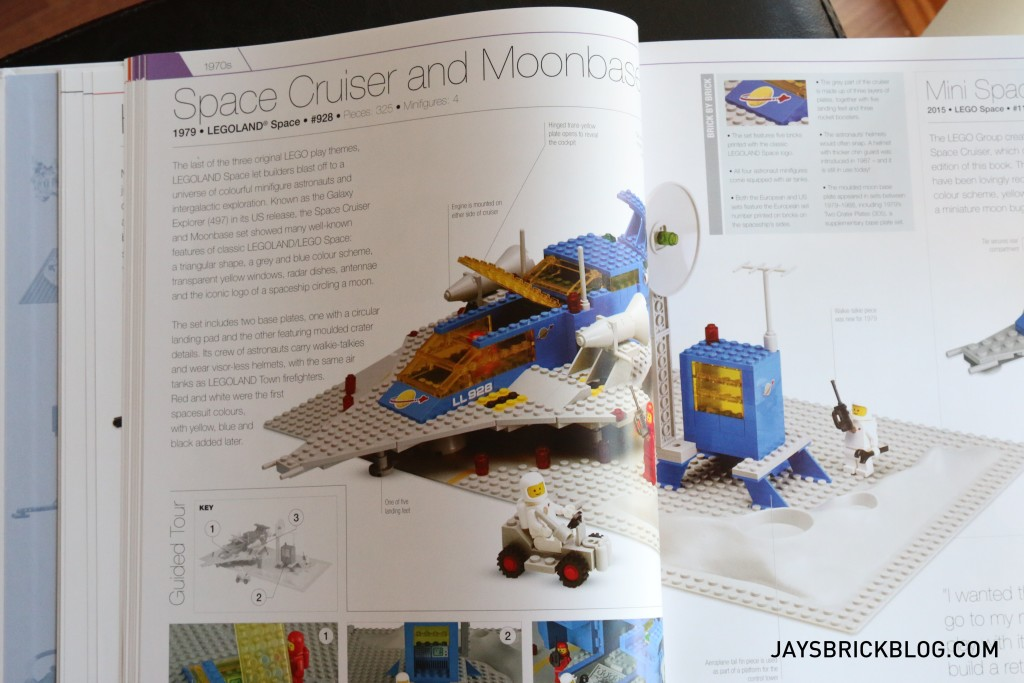 DK Great LEGO Sets Book - 928 Space Cruiser Page