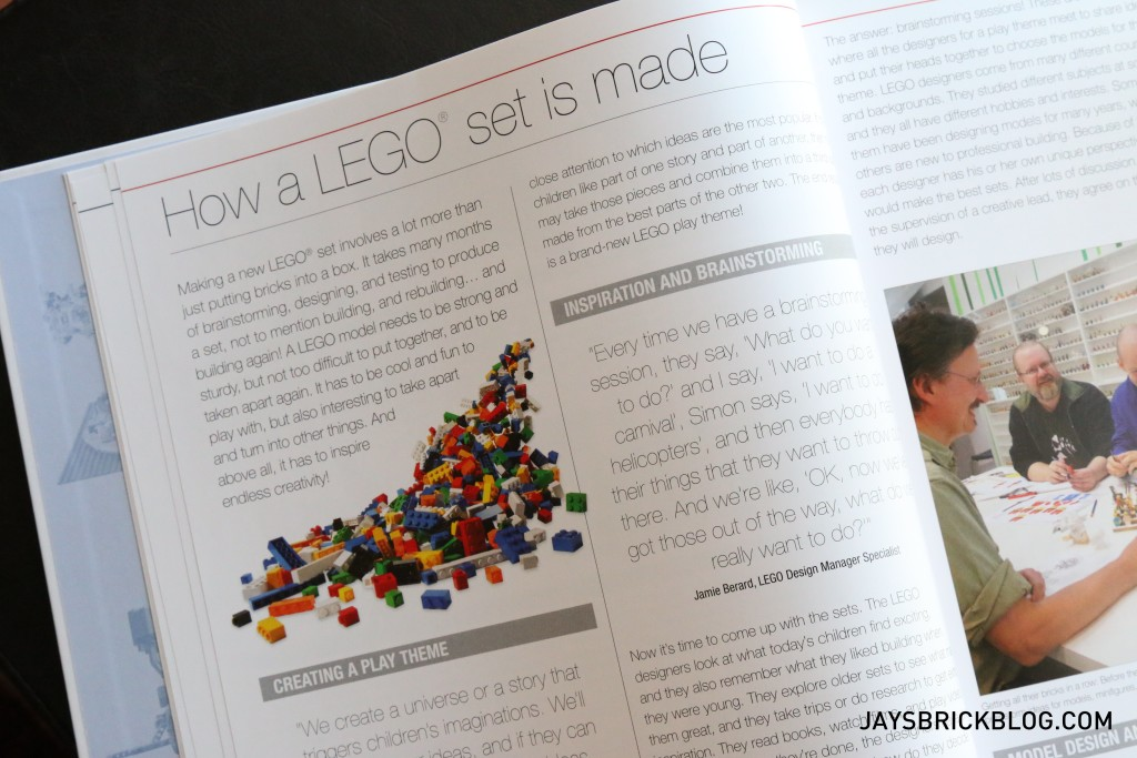 DK Great LEGO Sets Book - How LEGO is Made