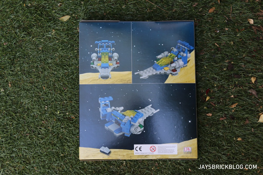 DK Great LEGO Sets Book - Micro Space Cruiser Box Back