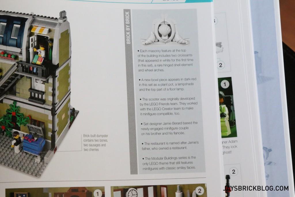 DK Great LEGO Sets Book - Set Trivia