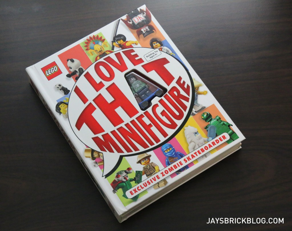 Review: I Love That Minifigure Book
