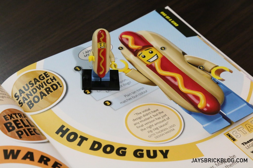 DK I Love That Minifigure - Hot Dog Guy Page
