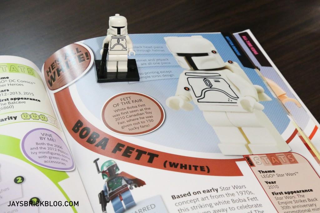DK I Love That Minifigure - White Boba Fett