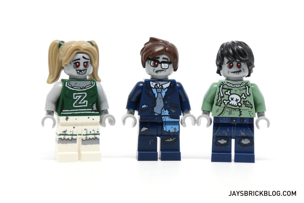DK I Love That Minifigure - Zombie Family