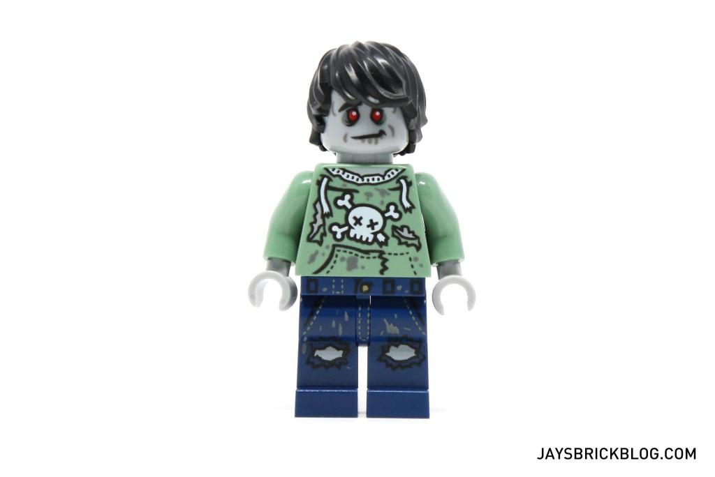 DK I Love That Minifigure - Zombie Skateboarder Minifig
