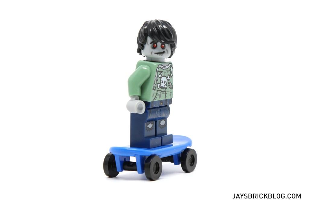 DK I Love That Minifigure - Zombie Skateboarder Minifigure