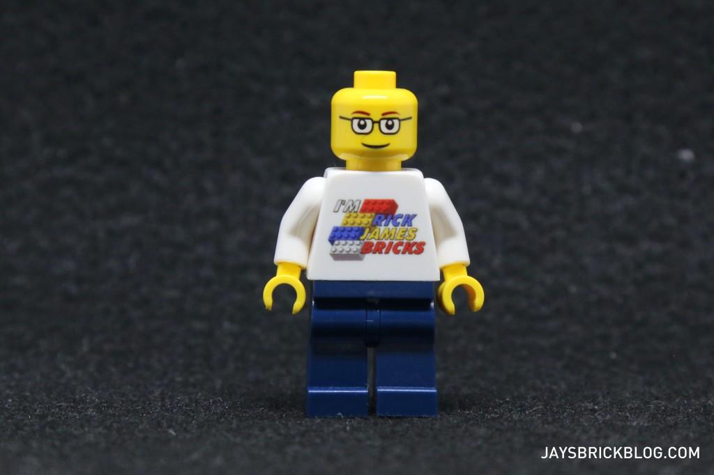 I'm Rick James Bricks Minifigure