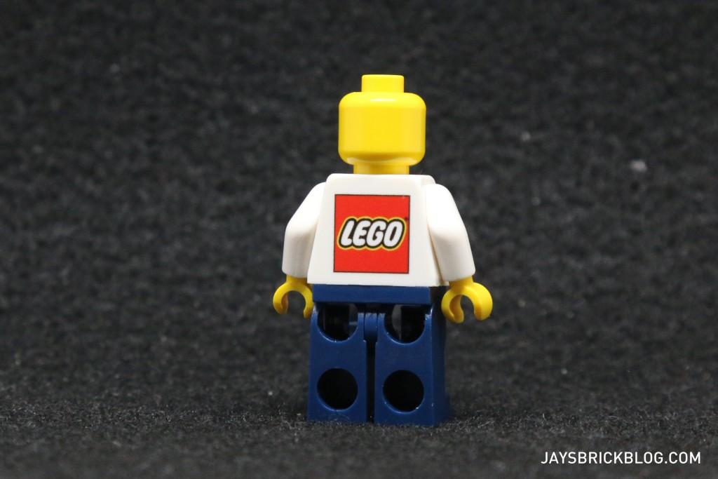 I'm Rick James Bricks Minifigure Back