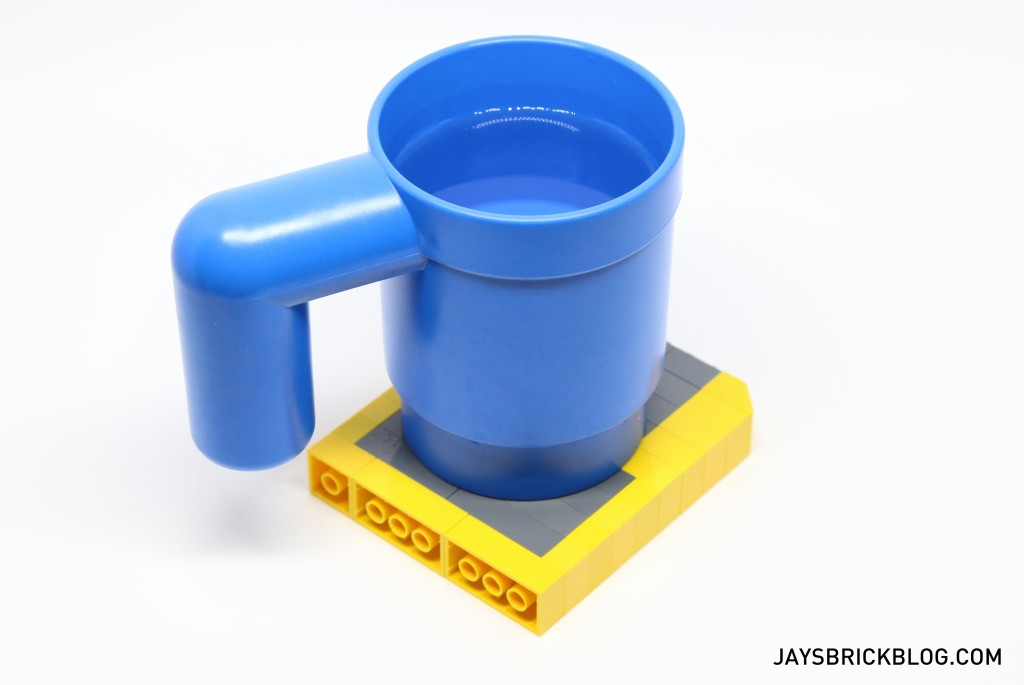 Just Brick It LEGO Cup on Floppy Disk