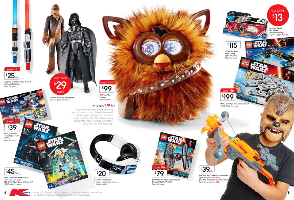 Kmart LEGO Sale October 2015 1