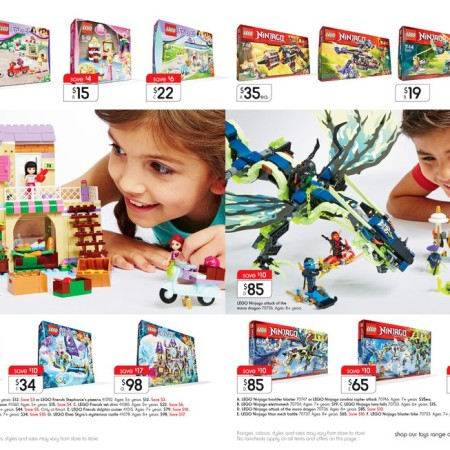 Kmart LEGO Sale October 2015 2