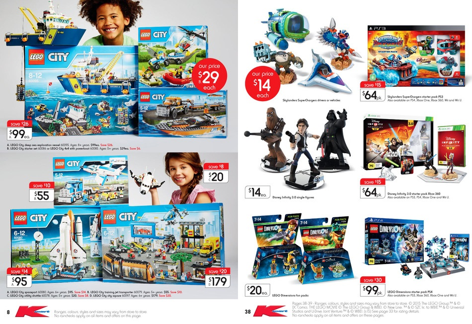 Kmart LEGO Sale October 2015 3