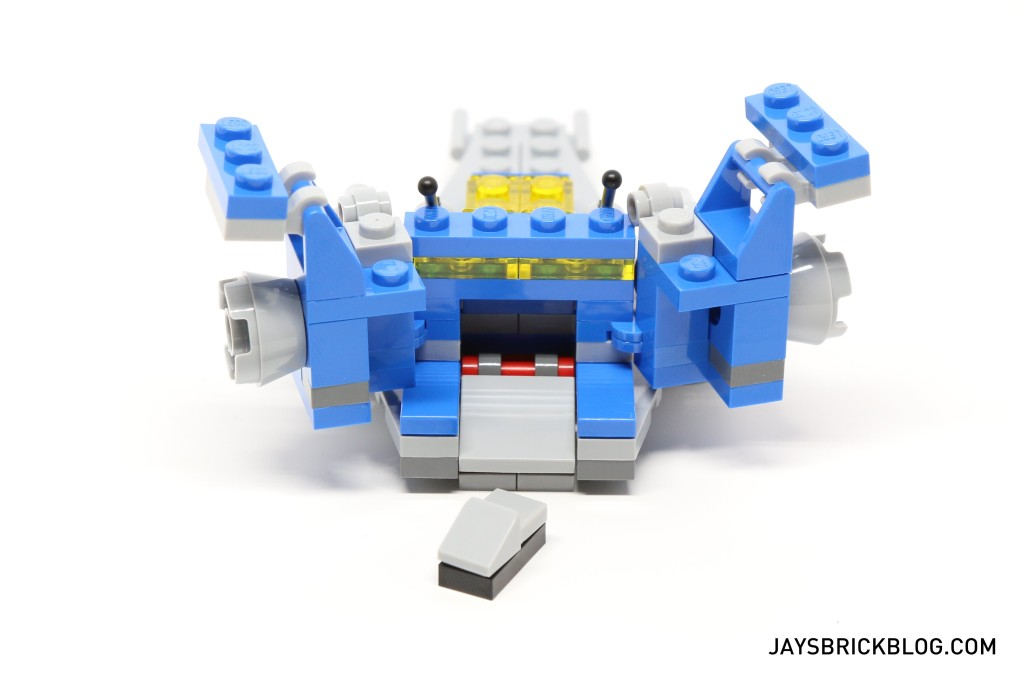 LEGO 11910 Micro Space Cruiser - Back View