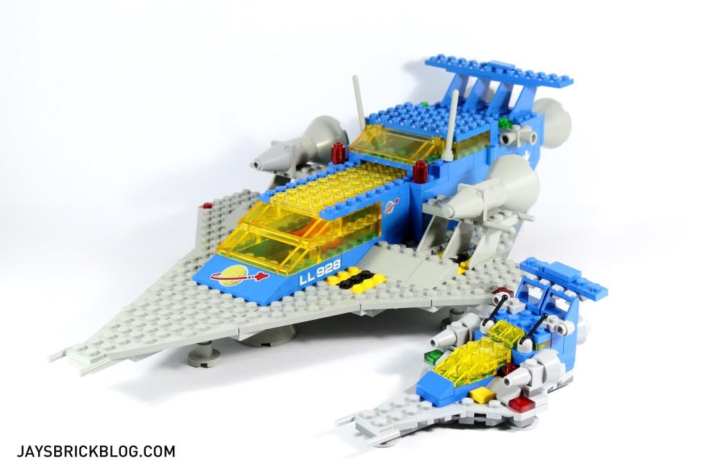 LEGO 11910 Micro Space Cruiser - Comparison with Original