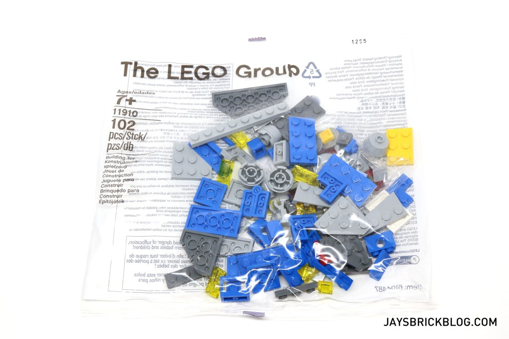 LEGO-11910-Micro-Space-Cruiser-Contents