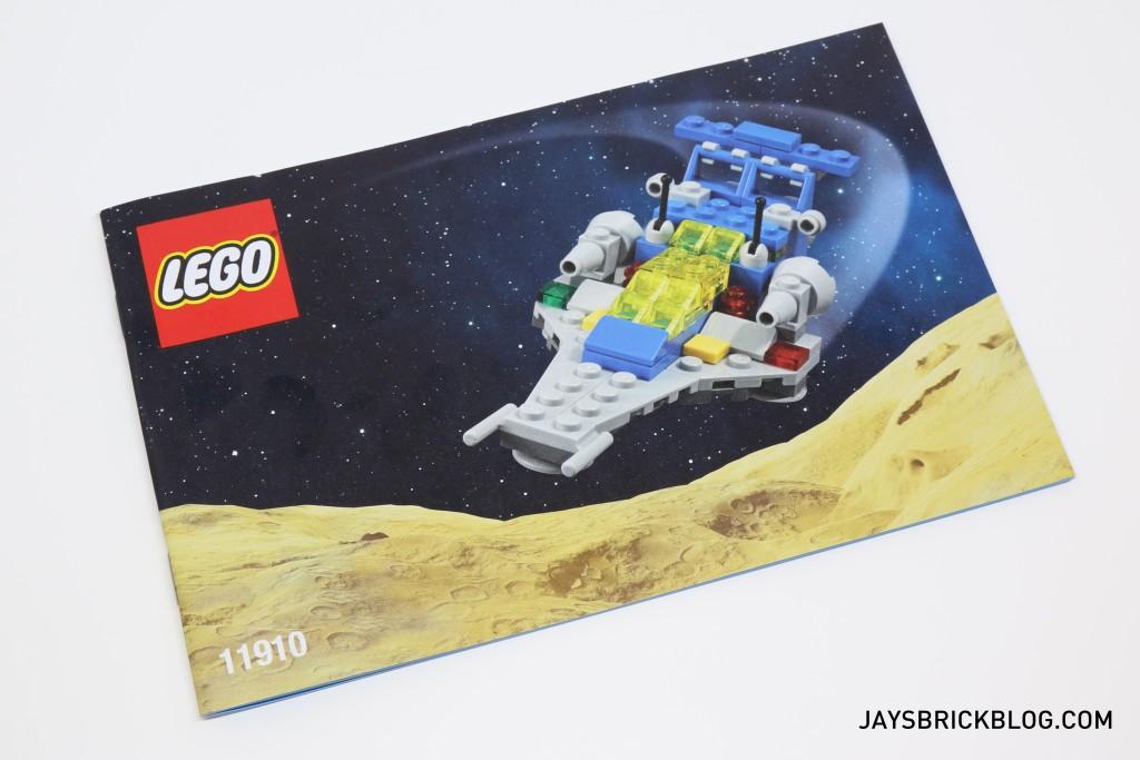LEGO 11910 Micro Space Cruiser - Instruction Manual