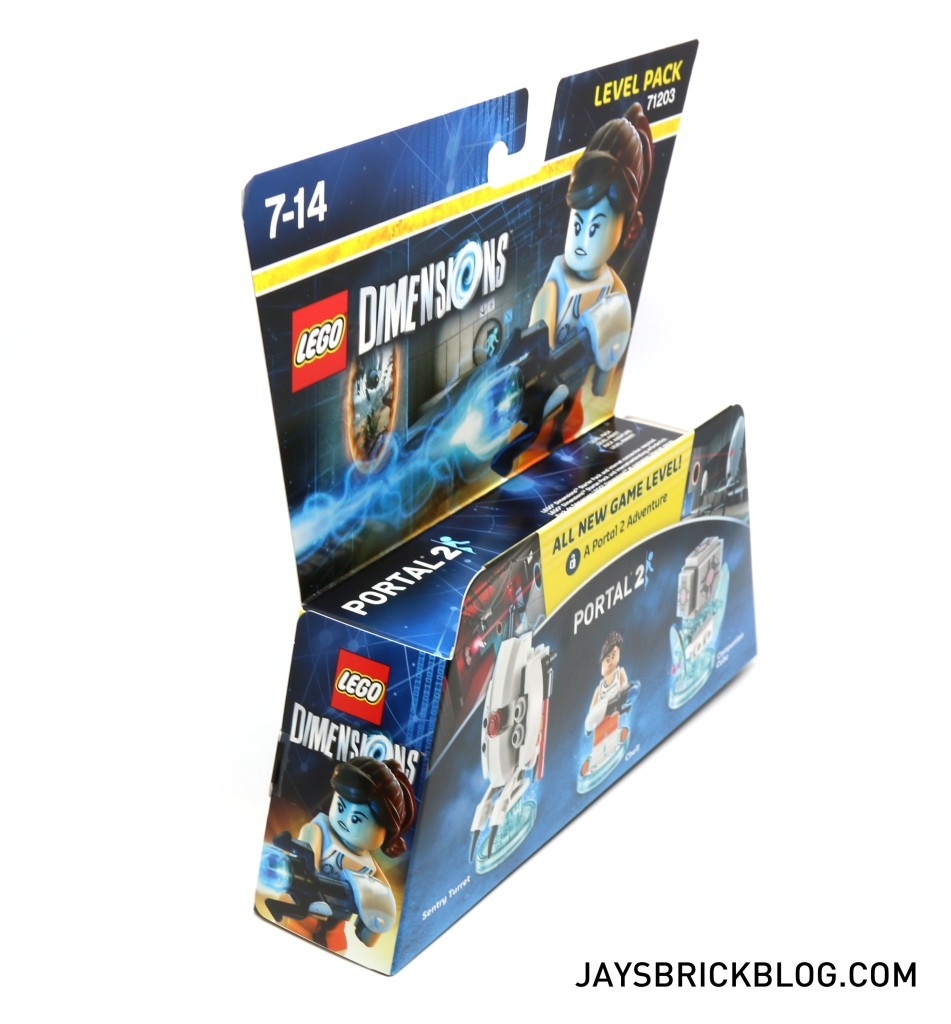 LEGO 71203 Portal Level Pack - Box Side