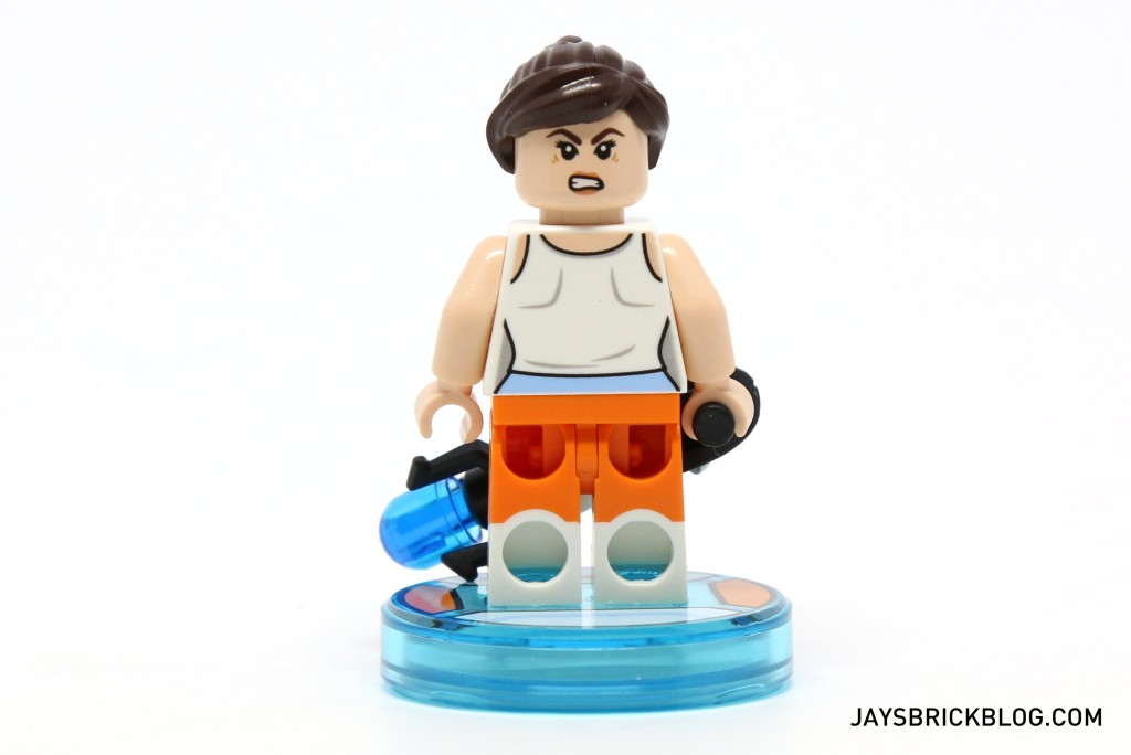 LEGO 71203 Portal Level Pack - Chell Minifigure Back