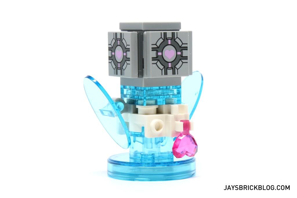 LEGO 71203 Portal Level Pack - Companion Cube Back