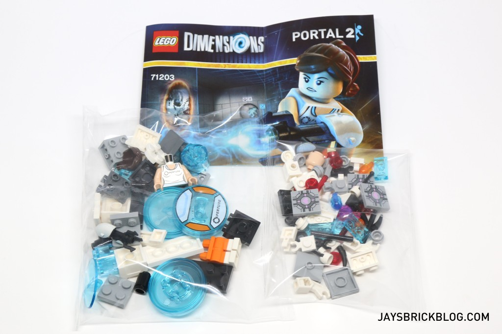 LEGO 71203 Portal Level Pack - Contents