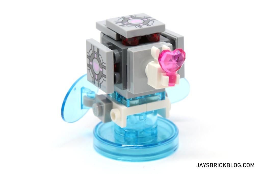 LEGO 71203 Portal Level Pack - Gold Heart Emitter Back
