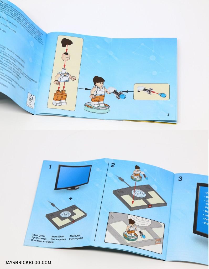 LEGO 71203 Portal Level Pack - Instruction Manual