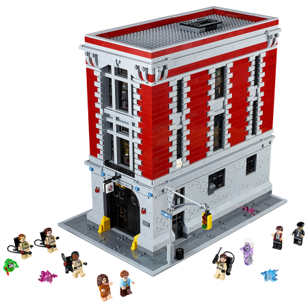 LEGO 75827 Ghostbusters Firehouse Small