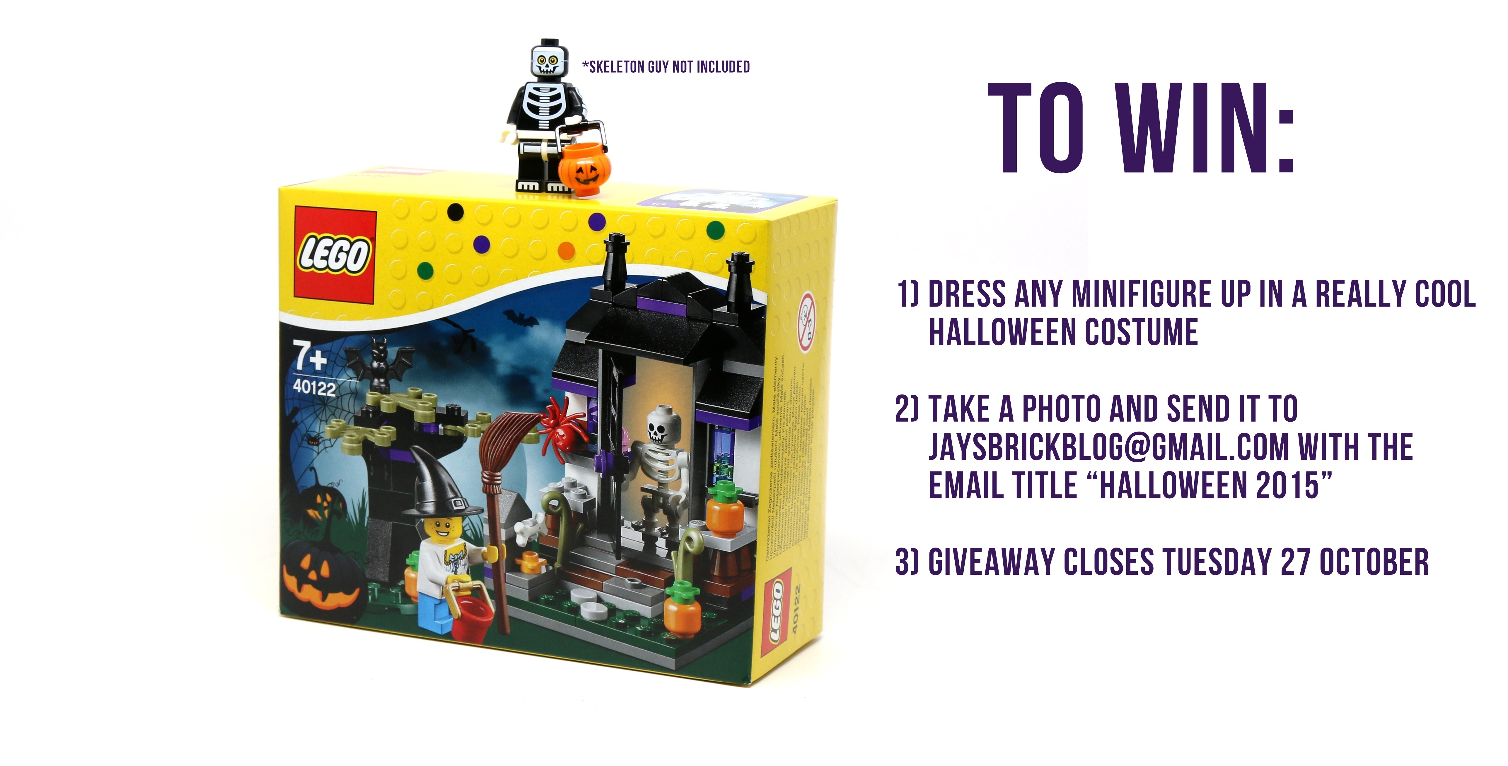 Halloween 2015 Giveaway – Win a LEGO Trick or Treat set!