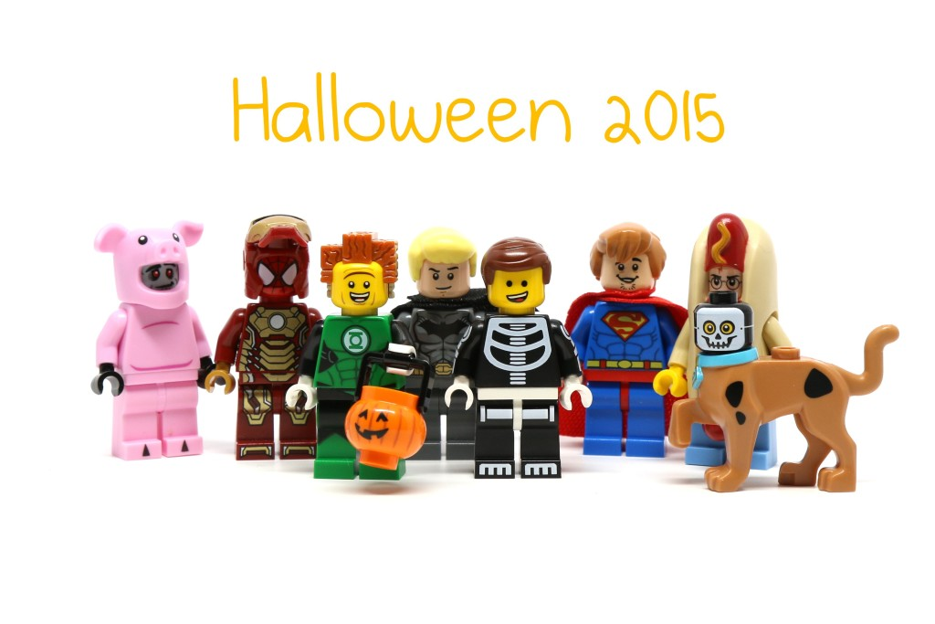LEGO Halloween Minifigure Costumes