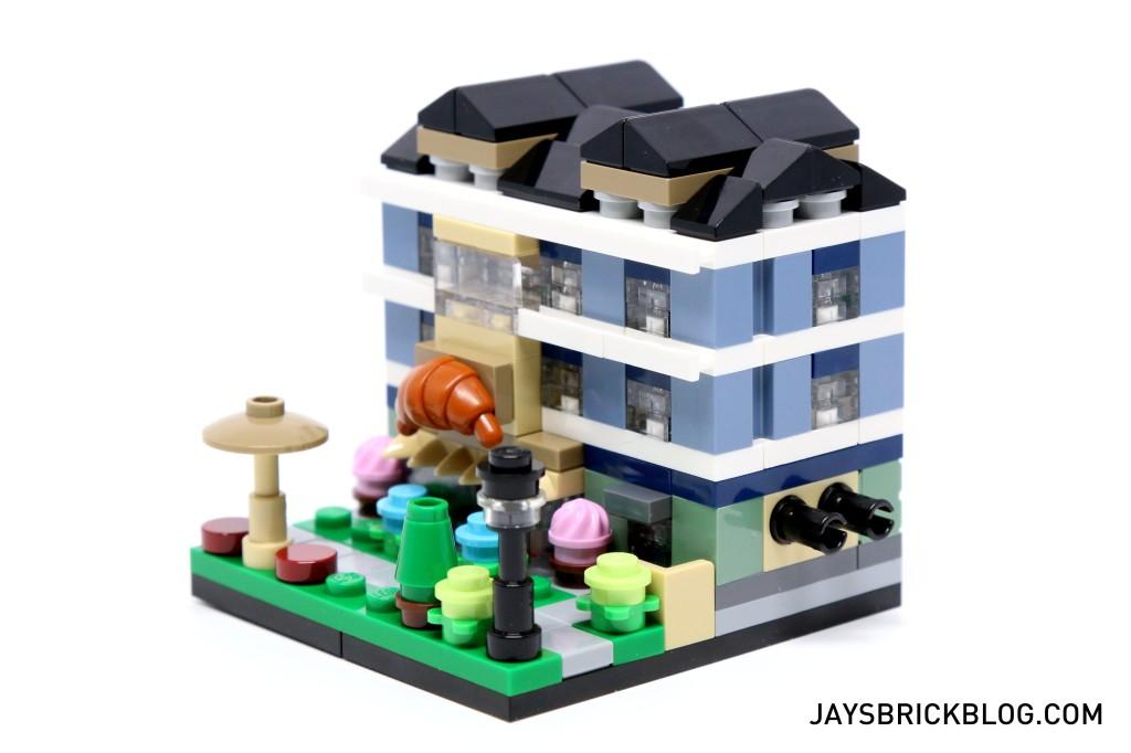 LEGO TRU Bricktober 2015 - Bakery Side View