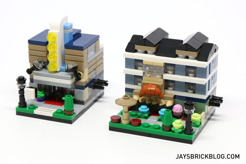 LEGO TRU Bricktober 2015 - Comparison with Series 1