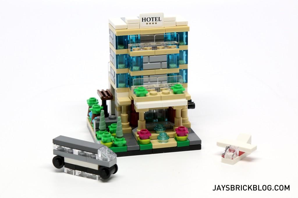 LEGO TRU Bricktober 2015 - Hotel