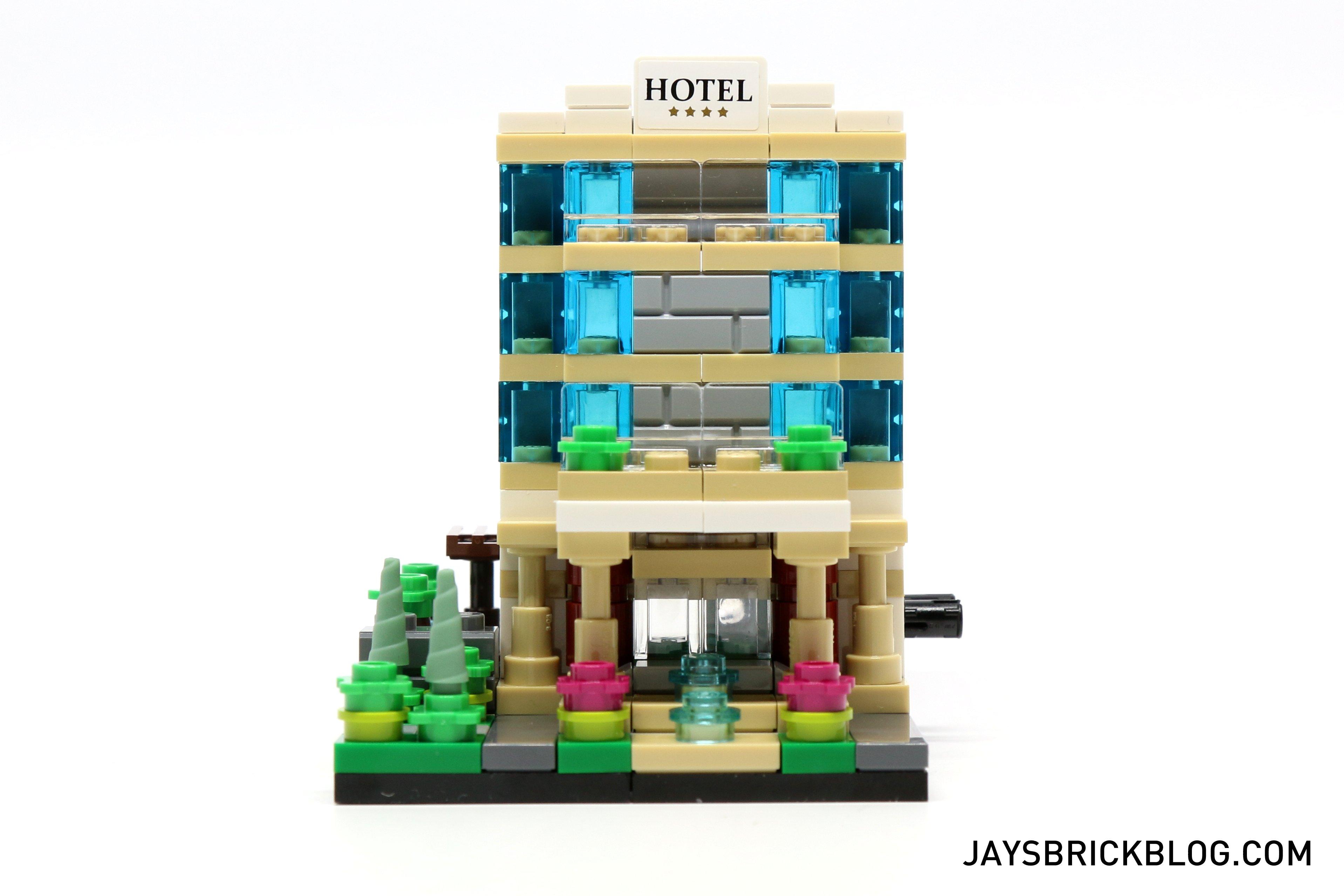 lego tru bricktober 2015 hotel front view