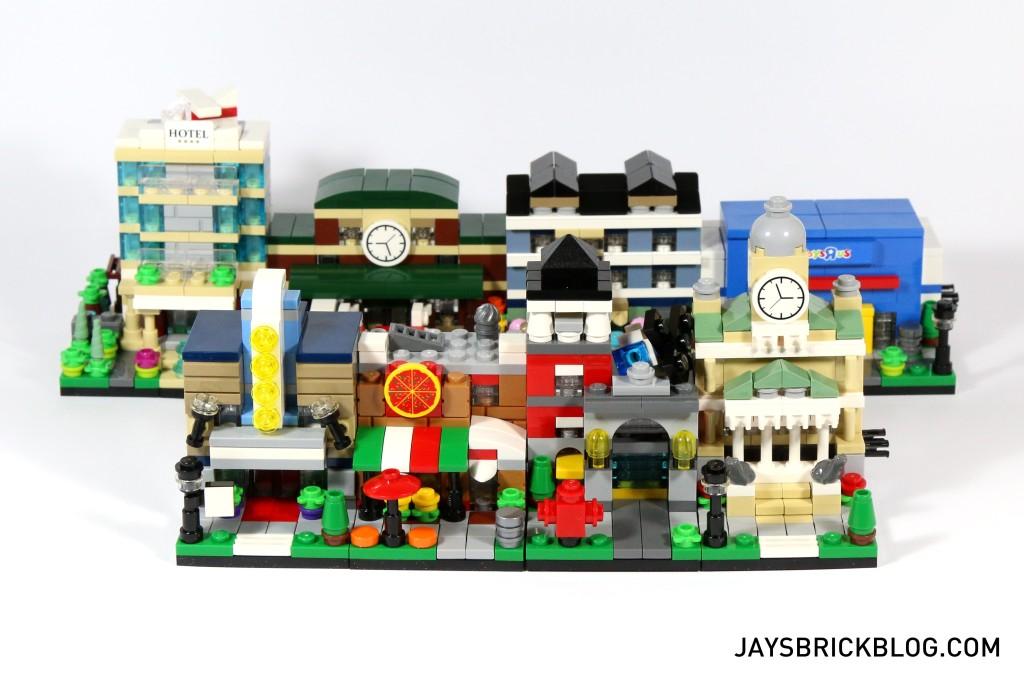 LEGO TRU Bricktober 2015 - Size Comparison
