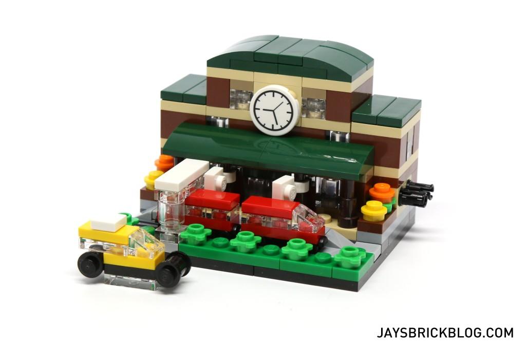 LEGO TRU Bricktober 2015 - Train Station