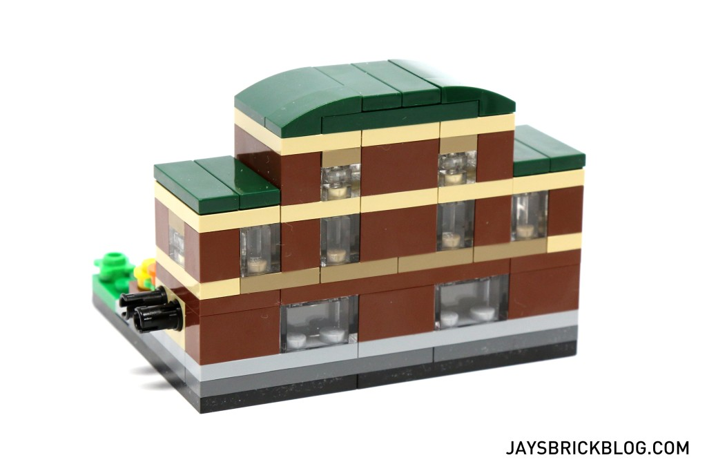 LEGO TRU Bricktober 2015 - Train Station Back View