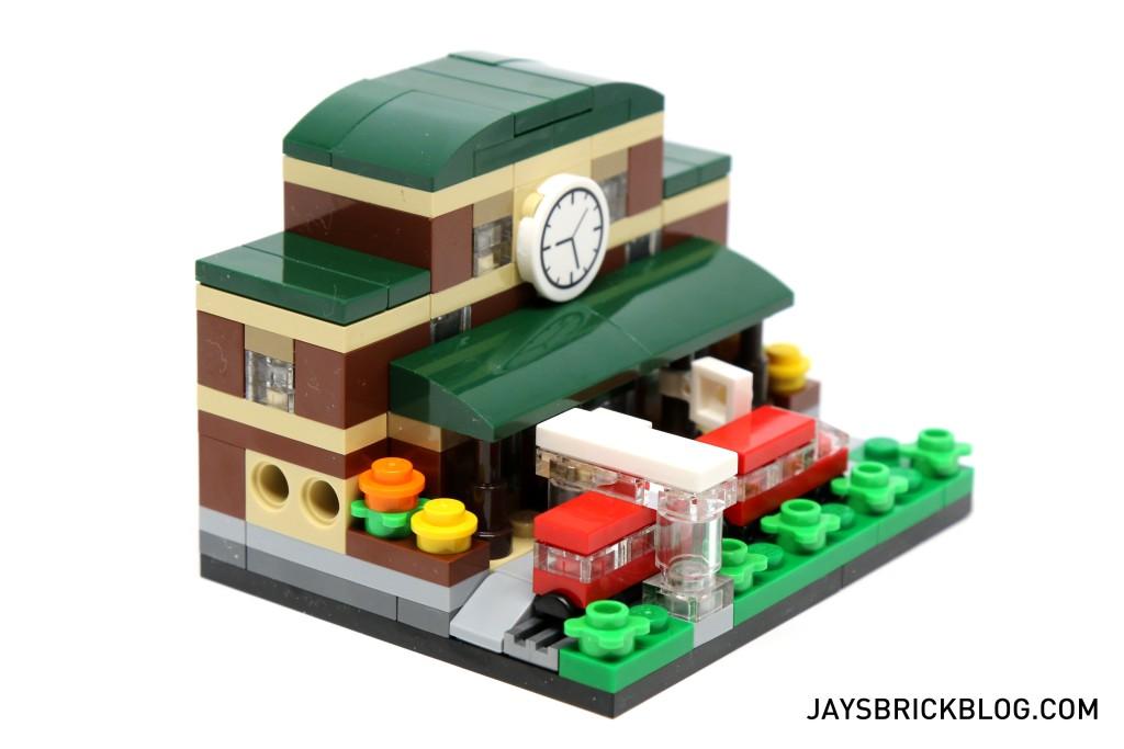 LEGO TRU Bricktober 2015 - Train Station Side View