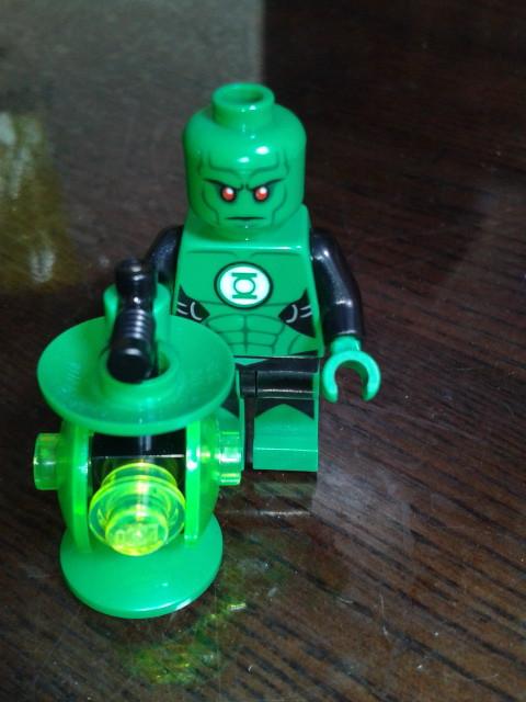 Ross - J'onn J'onzz as Green Martian