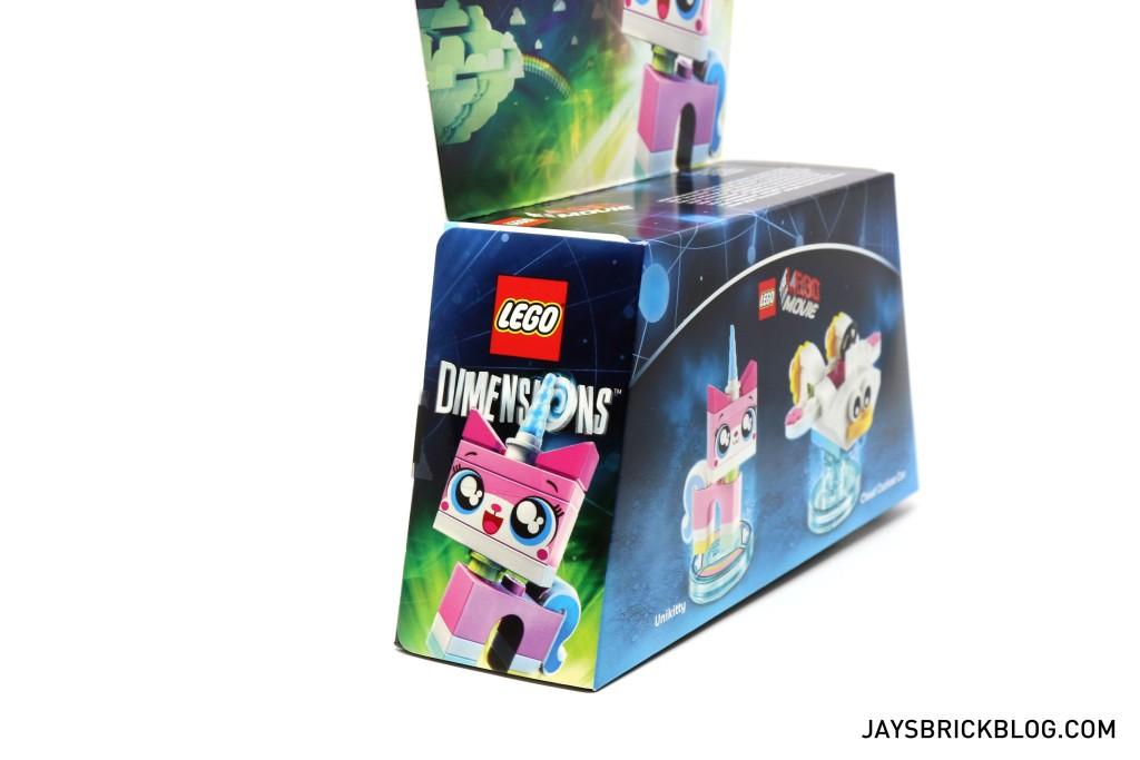 71231 LEGO Dimensions Unikitty Fun Pack - Box Side
